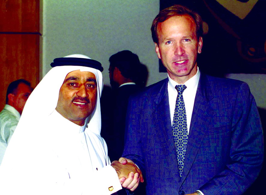 Neil Bush meets wtih Saudi Officials